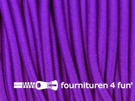 Rol 50 meter elastisch koord 3mm paars