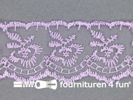 Nylon kant 42mm lila
