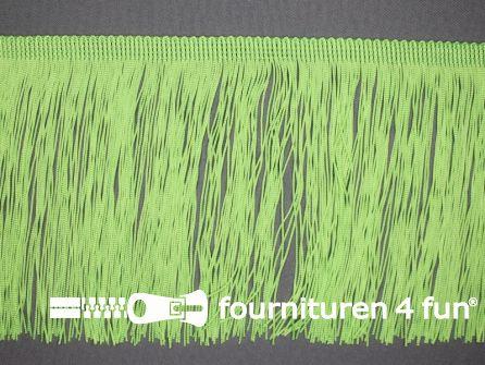 Charleston franje 150mm licht neon groen