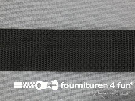 Parachute band 27mm zwart
