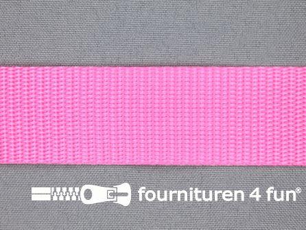 Parachute band 30mm neon roze