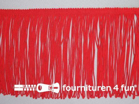 Charleston franje 150mm rood