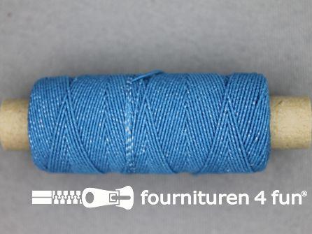 Elastisch garen 30m aqua blauw