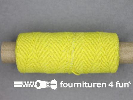 Elastisch garen 30m fel geel