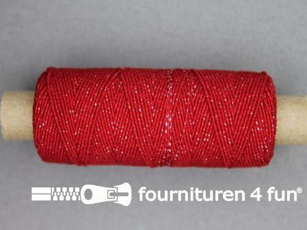 Elastisch garen 30m rood