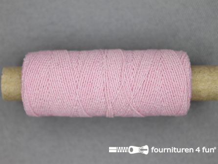 Elastisch garen 30m licht roze