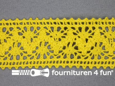 Kloskant 40mm geel