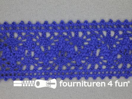 Kloskant 40mm kobalt blauw