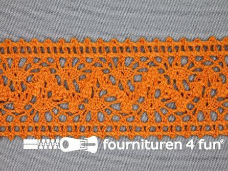 Kloskant 40mm oranje