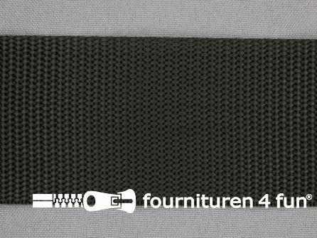 Parachute band 50mm zwart