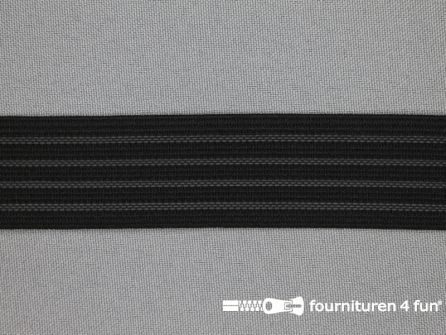 Antislip elastiek 28mm zwart