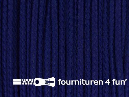 Koord 1mm rol kobalt blauw 50 meter