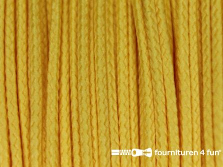 Koord 1mm rol geel 50 meter