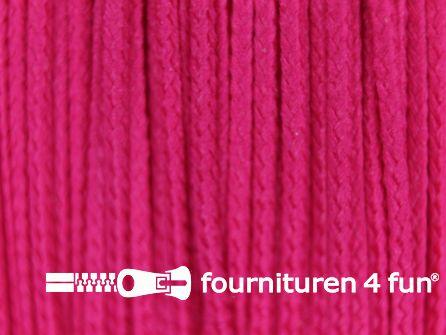 Koord 1mm rol cyclaam roze 50 meter
