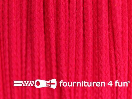 Koord 1mm rol fuchsia roze 50 meter