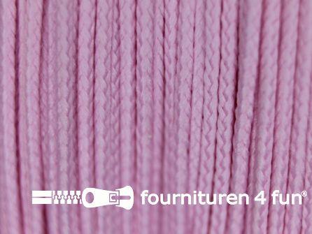 Koord 1mm rol roze 50 meter