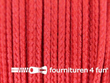 Koord 1mm rol rood 50 meter