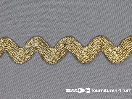 Zigzag band goud XL 30mm