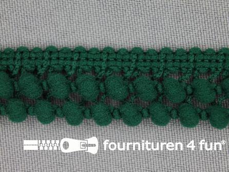 Mini bolletjesband 19mm licht flessen groen
