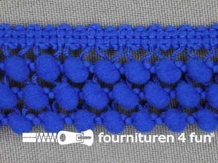 Mini bolletjesband 24mm koren blauw