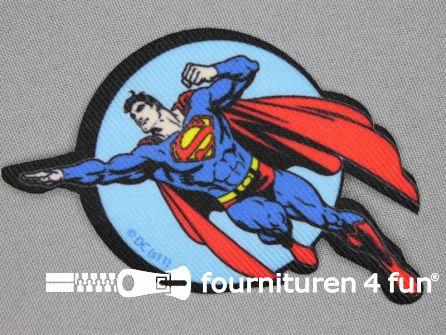 Superman applicatie 91x55mm