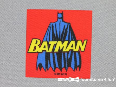 Batman applicatie 68x65mm