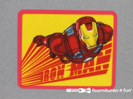 Avengers applicatie 70x57mm Iron Man