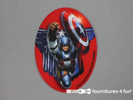 Avengers applicatie 80x110mm Captain America