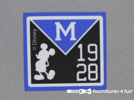 Mickey Mouse applicatie 60x57mm