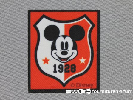 Mickey Mouse applicatie 56x50mm