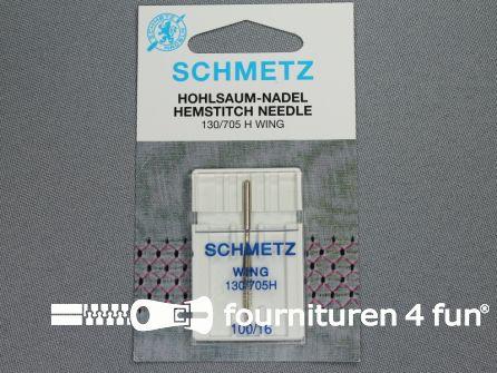 Schmetz machine naalden - hemstitch needle wing 100