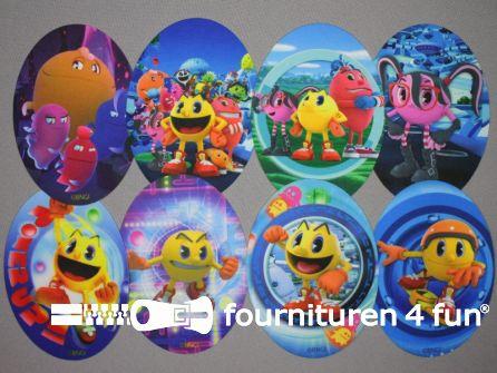 Pacman applicaties set 8 stuks