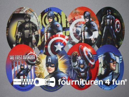 Avengers applicaties set 8 stuks
