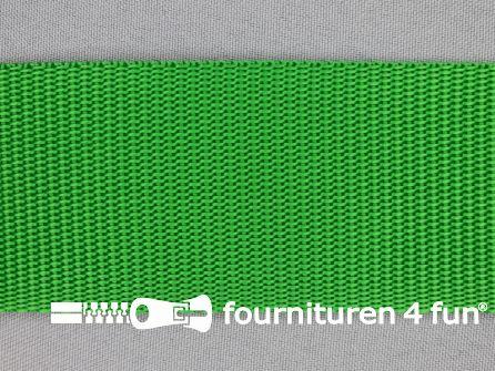 Parachute band 50mm groen