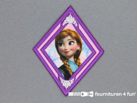 Disney Frozen applicatie 65x82mm Anna