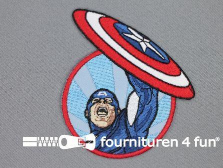 Avengers applicatie 83x73mm Captain America