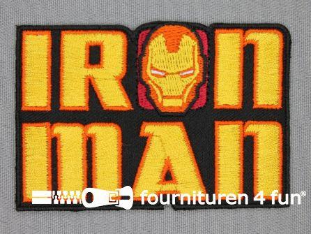 Avengers applicatie 78x52mm Iron Man