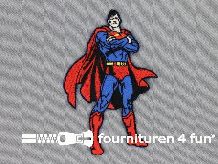 Superman applicatie 80x55mm