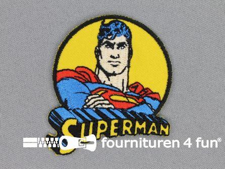 Superman applicatie 55x54mm