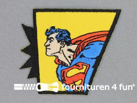 Superman applicatie 65x55mm