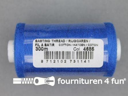 Rijggaren 300 meter kobalt blauw - 100% katoen