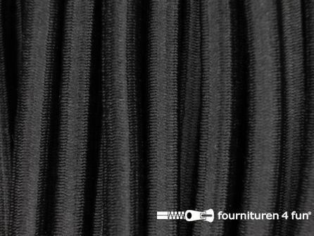 Elastisch koord 7mm zwart