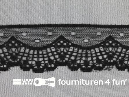 Nylon kant 37mm zwart