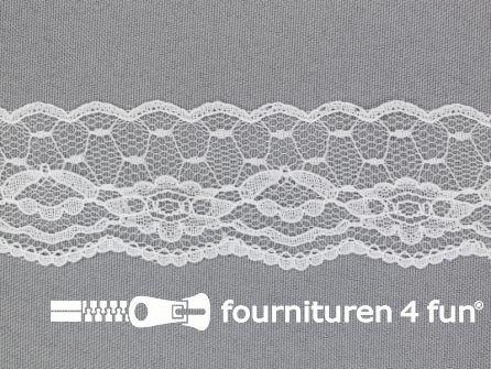 Nylon kant 35mm wit