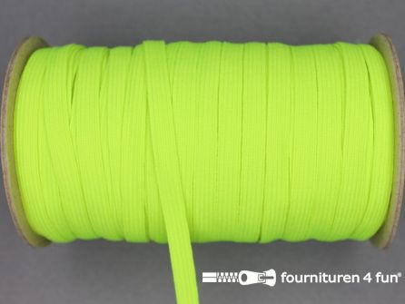 50 Meter rol elastiek 6mm neon geel