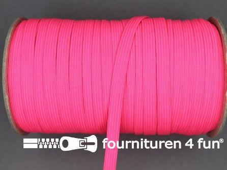50 Meter rol elastiek 6mm neon roze