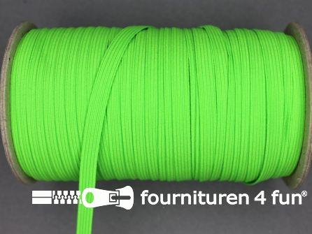 50 Meter rol elastiek 6mm neon groen