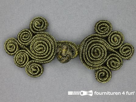 Brandenburger 92x41mm antiek goud