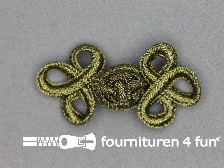 Brandenburger 55x28mm antiek goud