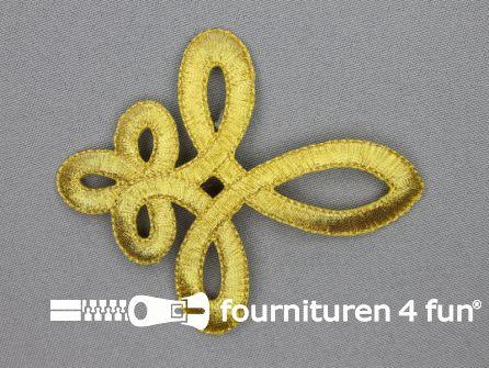 Barok applicatie 78x93mm goud